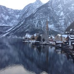 Photo taken at Hallstatt by irem A. on 2/21/2015