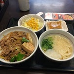 Photo taken at なか卯 池袋サンシャイン前店 by masa g. on 3/2/2015