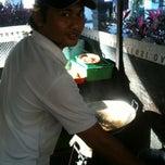 Photo taken at Pasar Agung Desa Adat Peninjoan by dêwwâ d. on 7/26/2013