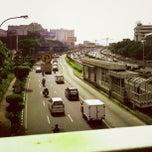 Photo taken at Jalan MT Haryono by Faaqih I. on 3/24/2013
