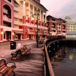 Photo taken at Disney's Boardwalk Villas by Jim E. on 2/21/2013