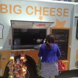 Photo taken at Big Cheese Truck by Mike B. on 7/25/2013
