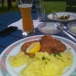 Photo taken at Waldheim Heslach by Eva M. on 6/9/2014