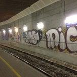 Photo taken at Stazione Suburbana Bologna Zanolini by Roberto G. on 3/5/2013
