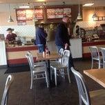 Photo taken at Jake's Wayback Burgers by Jason M. on 3/10/2014