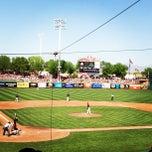 Photo taken at Scottsdale Stadium by Tom B. on 3/23/2013