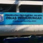Photo taken at Dinas Perhubungan Prov. DKI Jakarta by Yogi S. on 5/30/2014