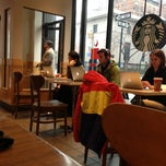 Photo taken at Starbucks by Evgeny ❌. on 12/27/2012