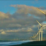 Photo taken at Bangui Windmills by Dan Martin D. on 2/9/2013