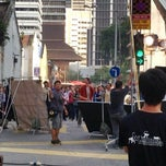 Photo taken at Jalan Hang Lekiu by Agnes V. on 7/28/2013