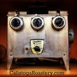 Photo taken at Calistoga Roastery by Peter S. on 8/23/2013