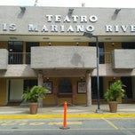 Photo taken at Teatro Luis Mariano Rivera by Irving M. on 6/22/2013