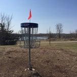 Photo taken at Bryant Lake Disc Golf Course by Jon W. on 4/4/2015