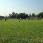 Photo taken at Stadium Mini Shah Alam by Don Faris Afiq on 10/25/2014