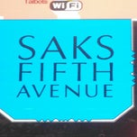 Photo taken at Saks Fifth Avenue by Leonardo M. on 3/20/2013