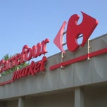 Photo taken at Carrefour by Raymond G. on 8/21/2013