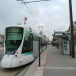 Photo taken at Station Porte de Versailles [T2,T3a] by MikaelDorian on 11/28/2012