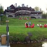 Photo taken at Lake Placid Lodge by David V. on 6/10/2013
