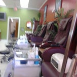 Photo taken at Charisma Nails and Spa by Christina P. on 3/6/2013