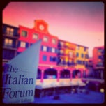Photo taken at Italian Forum by jaddan b. on 9/26/2012
