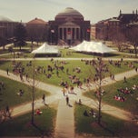 Photo taken at Syracuse University Quad by Nate S. on 4/18/2013