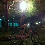 Photo taken at Vườn hoa Trung Yên by Nazai on 8/24/2013