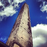 Photo taken at The Obelisk (Cleopatra's Needle) by Tokuyuki K. on 3/23/2013