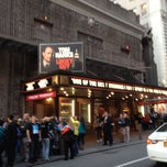 Photo taken at Broadhurst Theatre by erika w. on 4/26/2013