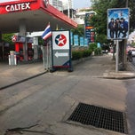 Photo taken at Caltex (คาลเท็กซ์) by Ruty S. on 11/6/2012