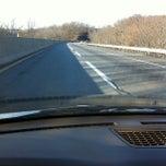 Photo taken at Pennsylvania Turnpike - NE Extenstion by Thomas T. on 12/23/2012