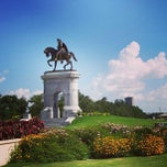 Photo taken at Hermann Park by Aakhmed on 6/21/2013