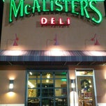 Photo taken at McAlister's Deli by William M. on 12/3/2012