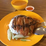 Photo taken at Food Park by Joshua T. on 4/10/2015