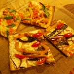 Photo taken at Jules Thin Crust Pizza by Vino V. on 4/18/2013