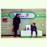 Photo taken at 역삼역 (Yeoksam Stn.) by Enny Y. on 12/30/2014