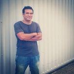 Photo taken at Dukes Island Studios by Tarek A. on 8/15/2014