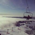 Photo taken at Grouse Mountain by Ji-Taek P. on 2/10/2013
