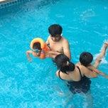 Photo taken at โรงแรมบ้านต้นไม้ (The Tree House Hotel) by taksina p. on 3/14/2015