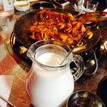 Photo taken at 쭈꾸미달인 by 다늬 on 10/18/2014