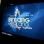 Photo taken at Bintang Gemilang Karaoke by Suhaimi P. on 11/30/2013