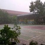 Photo taken at SMA Negeri 1 Balikpapan by Ines A. on 2/23/2013