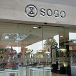 Photo taken at Sogo Department Store by chocodyssey on 9/27/2013