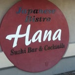 Photo taken at Hana Japanese Restaurant by Cami H. on 2/11/2013