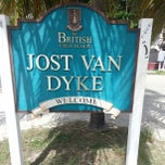 Photo taken at Jost Van Dyke Island by akaCarioca on 12/23/2012