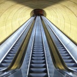 Photo taken at Dupont Circle Metro Station by Harvey a. on 1/29/2013