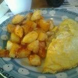 Photo taken at Pop Shoppe Diner by Nancy R. on 10/21/2012