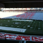 Photo taken at Sanford Stadium by Camden D. on 11/24/2012