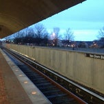 Photo taken at Van Dorn Street Metro Station by John on 2/28/2013