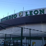 Photo taken at Estadio León by Ricky V. on 11/17/2012