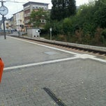 Photo taken at Gare CFL de Dudelange-Ville by Stéfane S. on 9/23/2012
